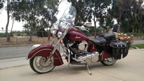 2003 Indian Chief Red photo