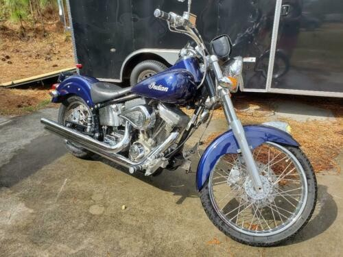 2003 Indian scout Blue photo