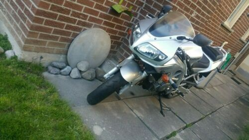 Suzuki: SV650s Silver for sale
