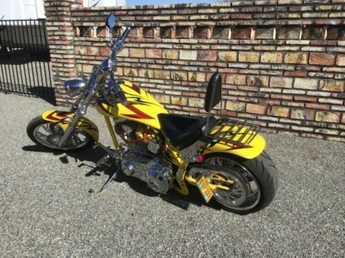 2004 American Ironhorse Slammer Yellow custom photo