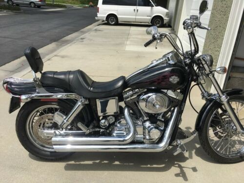 2004 Harley-Davidson Dyna Black photo