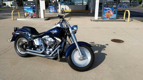 2004 Harley-Davidson Softail Blue photo