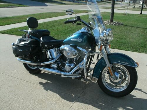 2004 Harley-Davidson Softail Teal photo