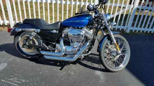 2004 Harley-Davidson Sportster Blue photo