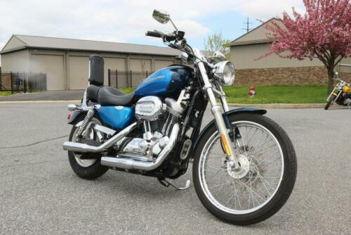 2004 Harley-Davidson XL883C - Sportster® Custom 883 -- Blue photo
