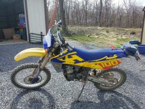 2004 Husqvarna TE250 Yellow photo