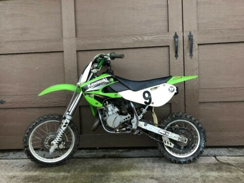 2004 Kawasaki KX Green photo