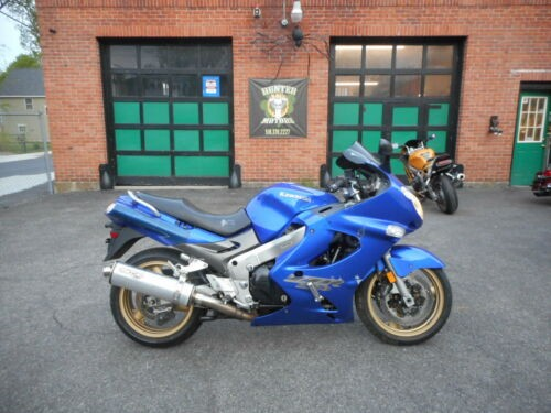 2004 Kawasaki SPORT TOURING Blue photo
