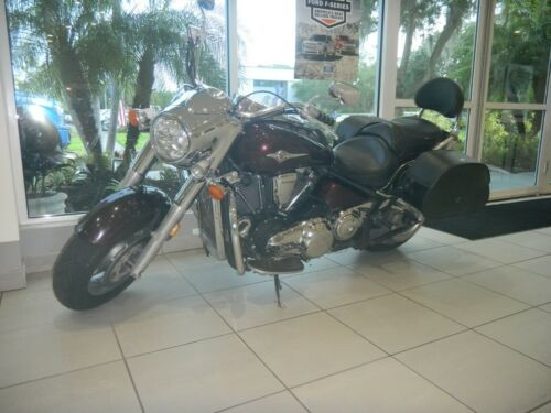 2004 Kawasaki Vulcan Burgundy photo