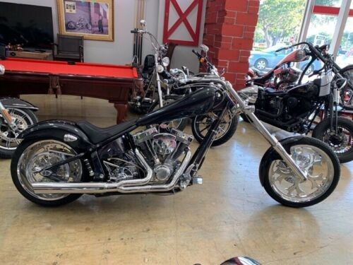2005 American Ironhorse LEGEND SOFTAIL CHOPPER Gray photo