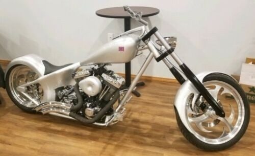 2005 Custom Built Motorcycles Chopper Silver photo