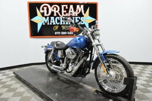 2005 Harley-Davidson Dyna -- Blue photo