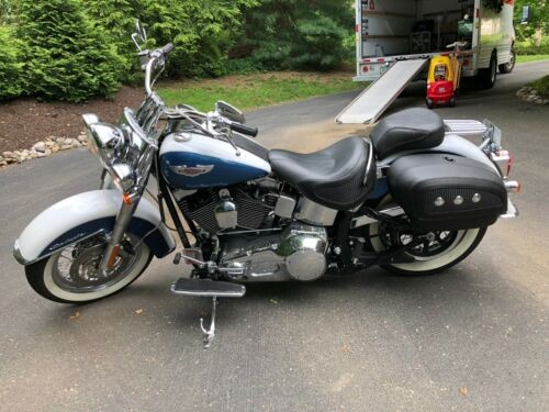 2005 Harley-Davidson Softail Blue photo