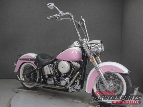 2005 Harley-Davidson Softail FLSTN DELUXE PINK/WHITE for sale craigslist