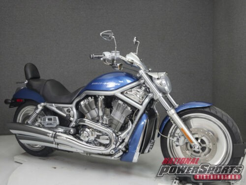 2005 Harley-Davidson V-ROD A V-Rod CHOPPER BLUE PEARL photo