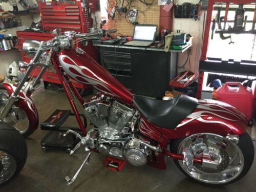 2006 American Ironhorse Texas Chopper Red photo