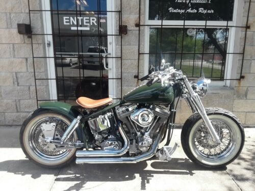 2006 Custom Built Motorcycles Bobber Green photo