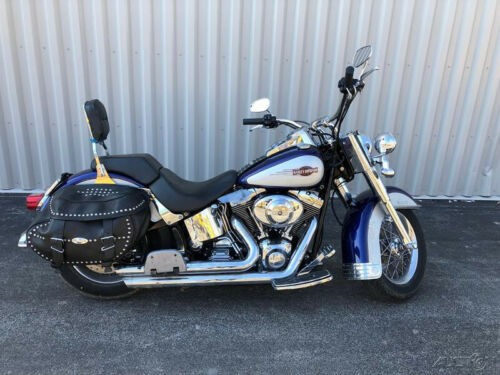 2006 Harley-Davidson Softail Blue/White photo