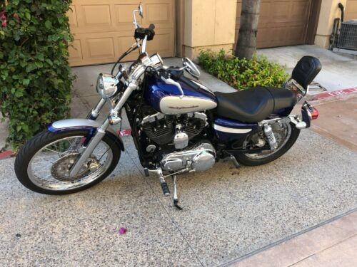 2006 Harley-Davidson Sportster Blue photo