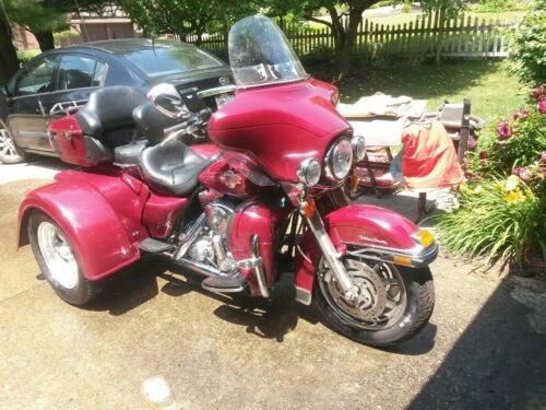 2006 Harley-Davidson Street Burgundy photo