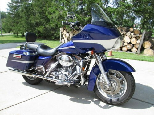 2006 Harley-Davidson Touring Blue / Silver Accents photo