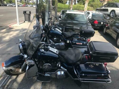 2006 Harley-Davidson Touring Blue photo