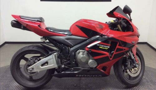 2006 Honda CBR600rr Red for sale