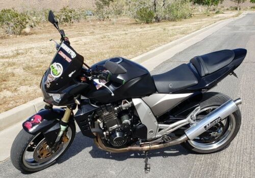 2006 Kawasaki Z1000 Black photo