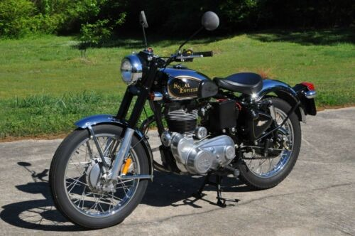 2006 Royal Enfield Bullet 500 Black/Gold photo
