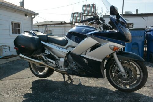 2006 Yamaha FJR Blue photo