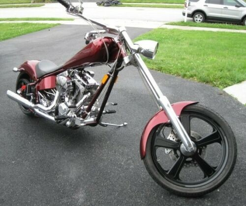 2007 American Ironhorse Legend Burgundy photo