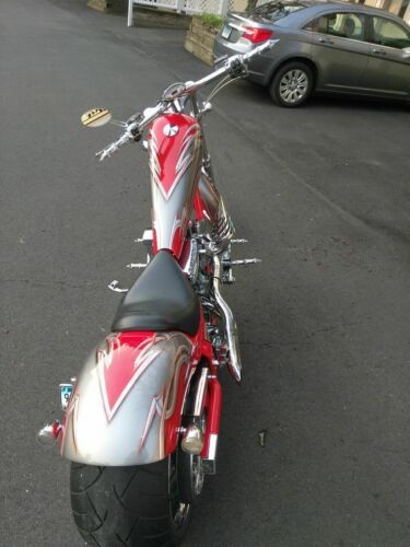2007 American Ironhorse TEXAS CHOPPER Red photo