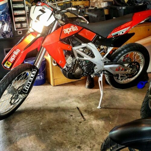 2007 Aprilia Sxv450 Red photo