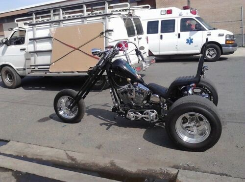 2007 Custom Built Motorcycles Chopper Black craigslist