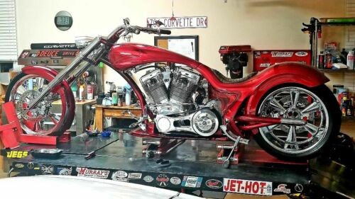 2007 Custom Built Motorcycles Pro Street Kandy Red Multiple Flake for sale