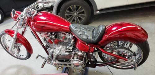 2007 Custom Built Motorcycles Pro Street Red photo