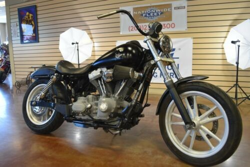 2007 Harley-Davidson Dyna Black photo
