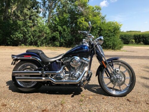 2007 Harley-Davidson Softail Abiss Blue photo