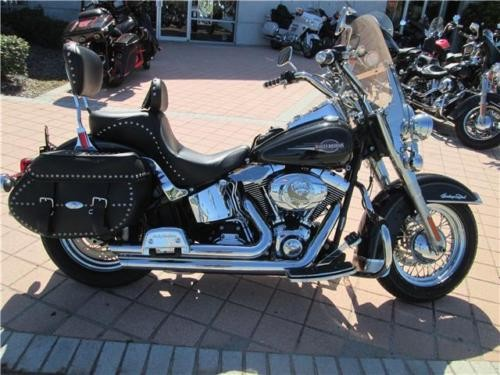 2007 Harley-Davidson Softail -- Black photo