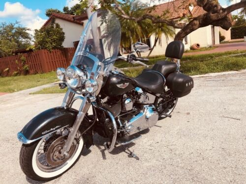 2007 Harley-Davidson Softail Black photo