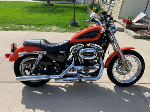 2007 Harley-Davidson Sportster Orange photo