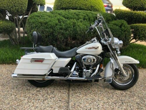 2007 Harley-Davidson Touring -- White photo