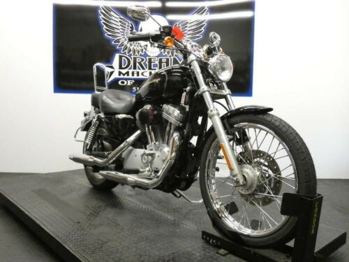 2007 Harley-Davidson XL883C - Sportster 883 Custom -- Black photo