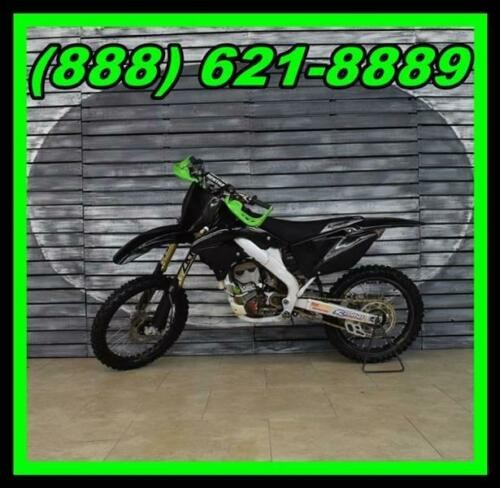 2007 Kawasaki KX250 — Black for sale craigslist