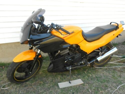 2007 Kawasaki Ninja EX500R Orange for sale