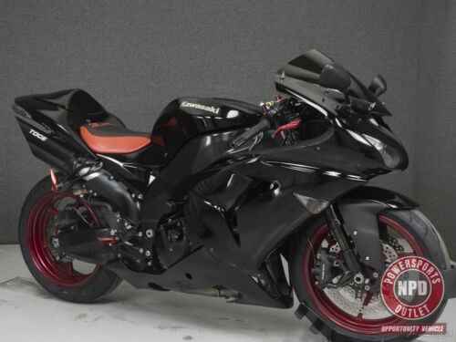 2007 Kawasaki Ninja ZX10R 1000 EBONY BLACK for sale craigslist