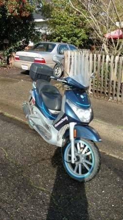 2007 Other Makes Piaggio BV 250 Blue for sale