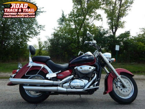 2007 Suzuki Boulevard -- Black photo