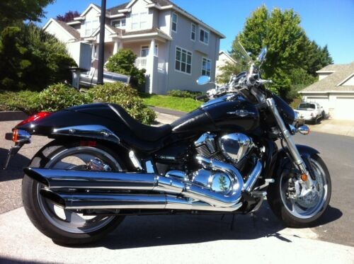 2007 Suzuki Boulevard Black photo