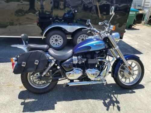 2007 Triumph America Blue photo